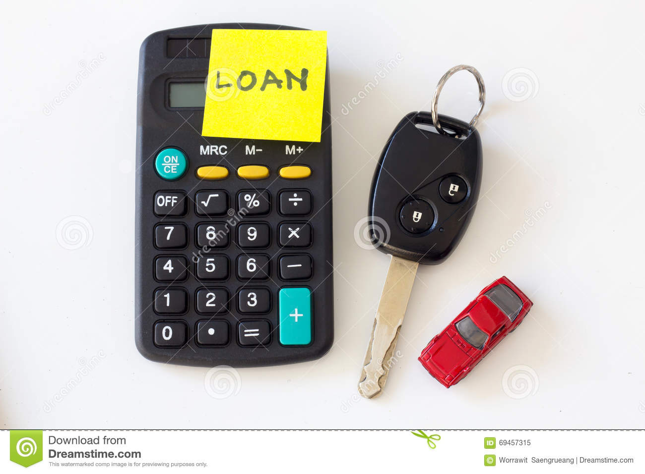 car loan and car leasing concept stock image image of business