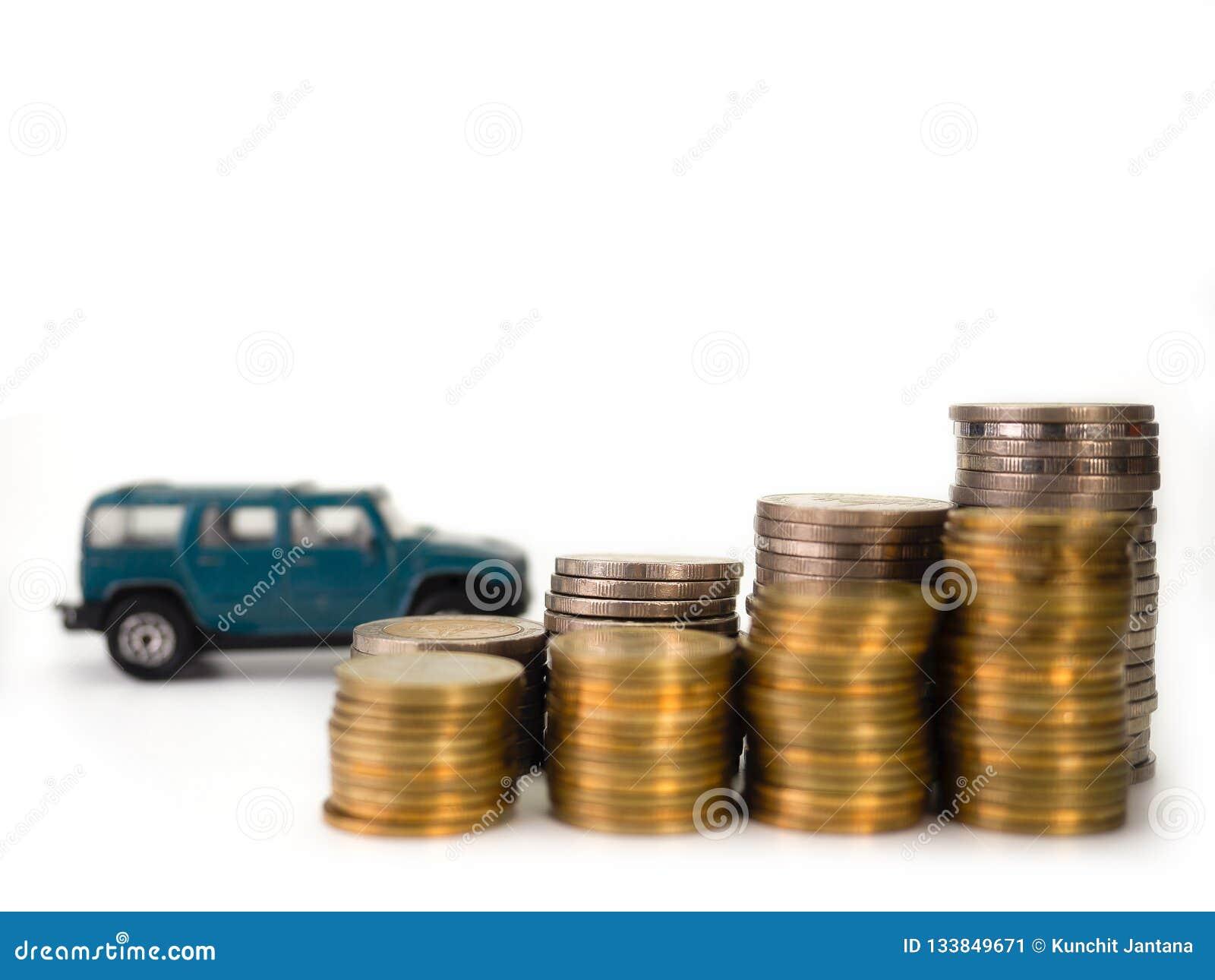 Car loan , money.selective focus