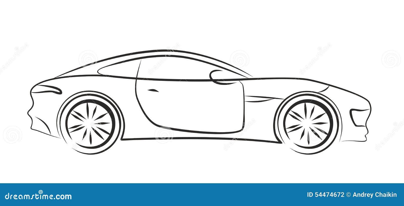 Car Logo. Stock Vector. Illustration Of Sports Race - 54474672