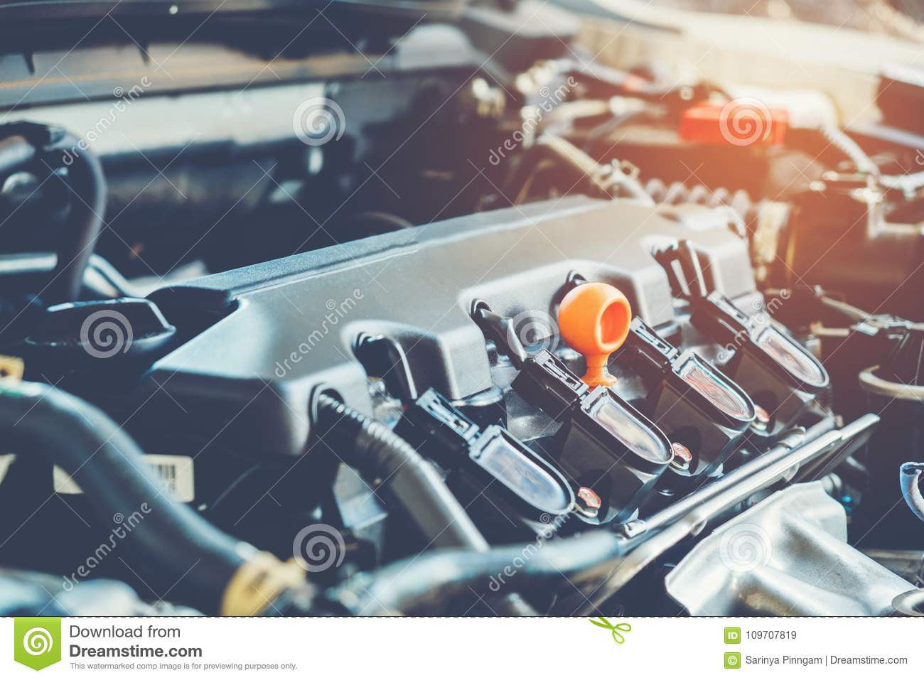 Car Mechanic Auto Repair Service Stock Image - Image of