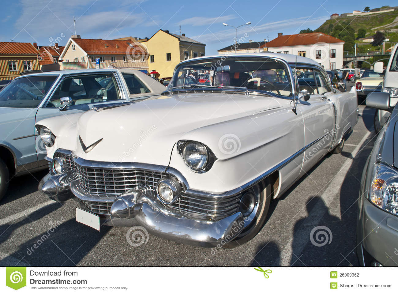 Am car meeting in halden classic american car stock for Old american cars