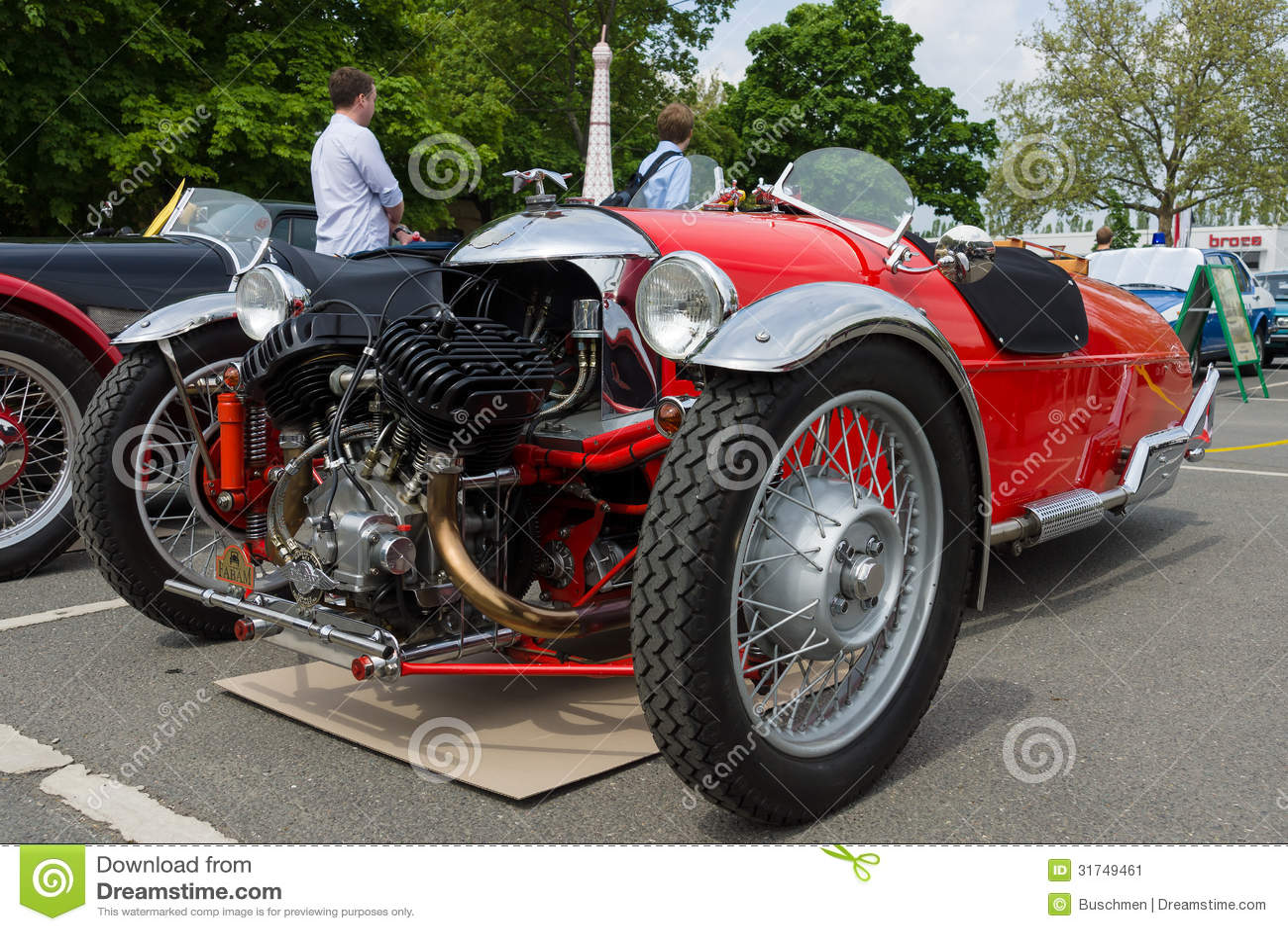car morgan v twin three wheelers editorial photo image 31749461. Black Bedroom Furniture Sets. Home Design Ideas