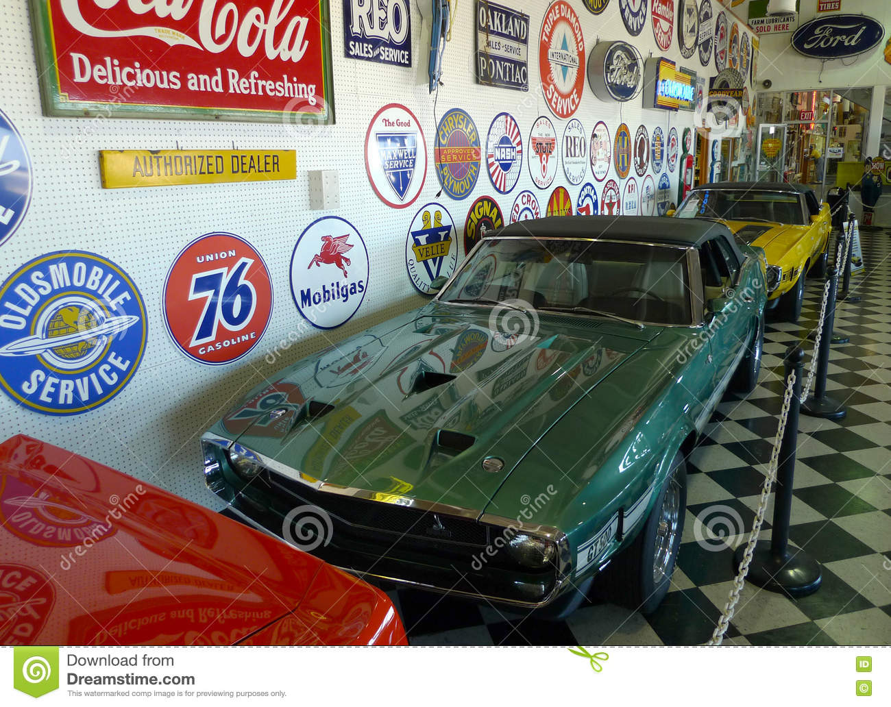 Car Museum Part Of Classic Auto In Oklahoma Editorial Image - Image ...