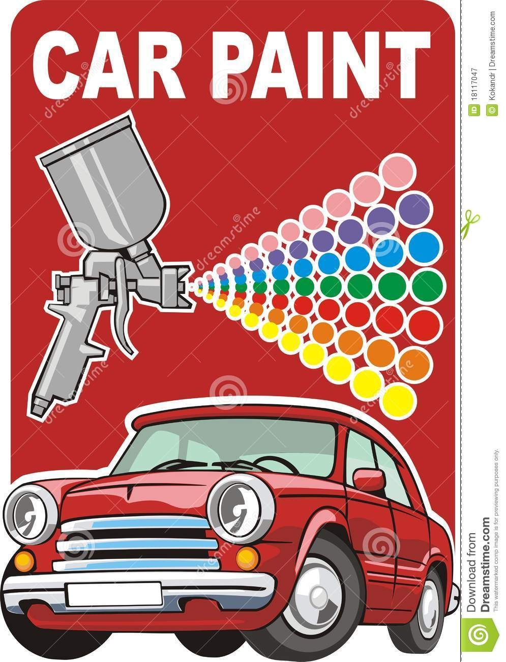 Http Www Dreamstime Com Royalty Free Stock Photography Car Paint Image18117047