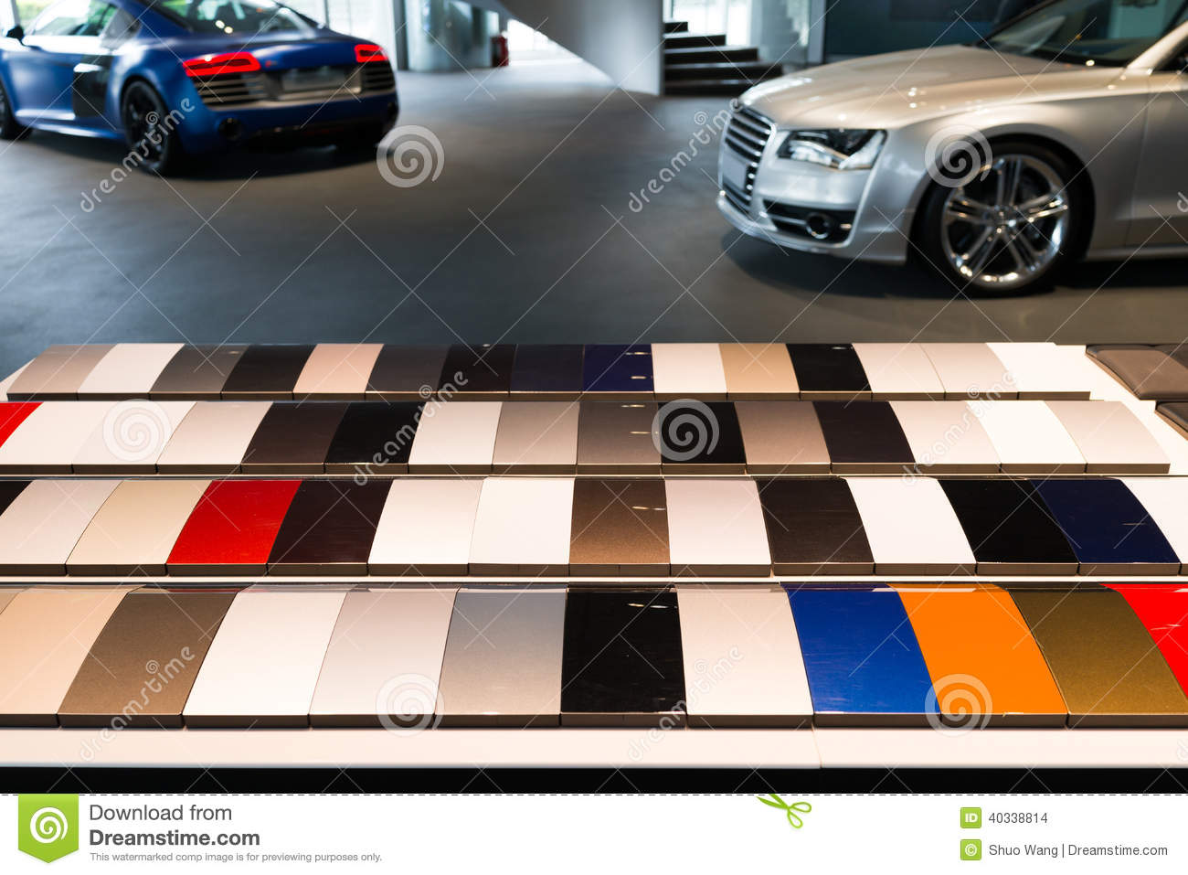 Sample Paint Colors For Cars