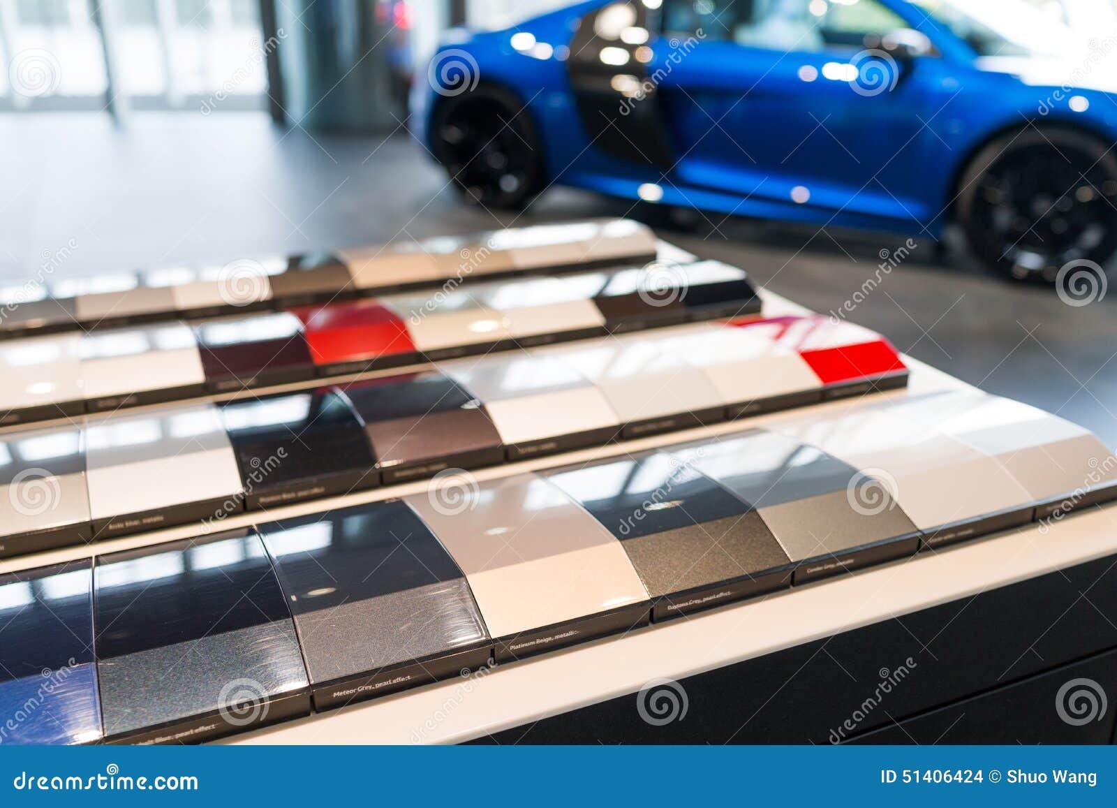 free car paint samples