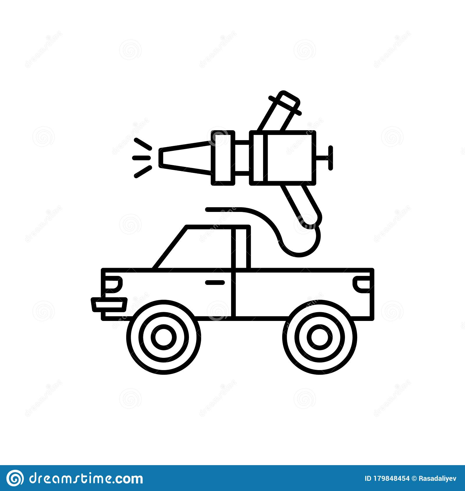 Car Painting Car Repair Icon Simple Line Outline Vector Elements Of Garage Icons For Ui And Ux Website Or Mobile Application Stock Illustration Illustration Of Design Motor 179848454