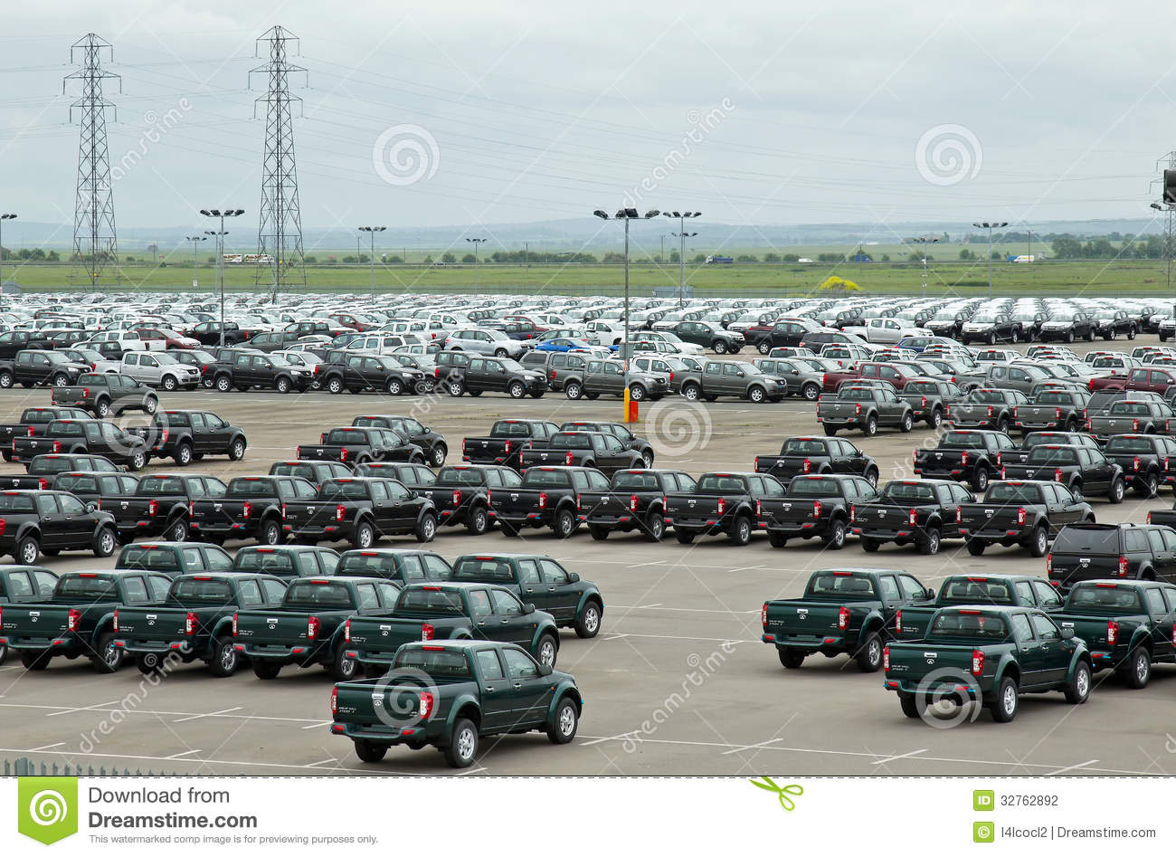 Car park editorial photography image 32762892 for Great wall motors stock