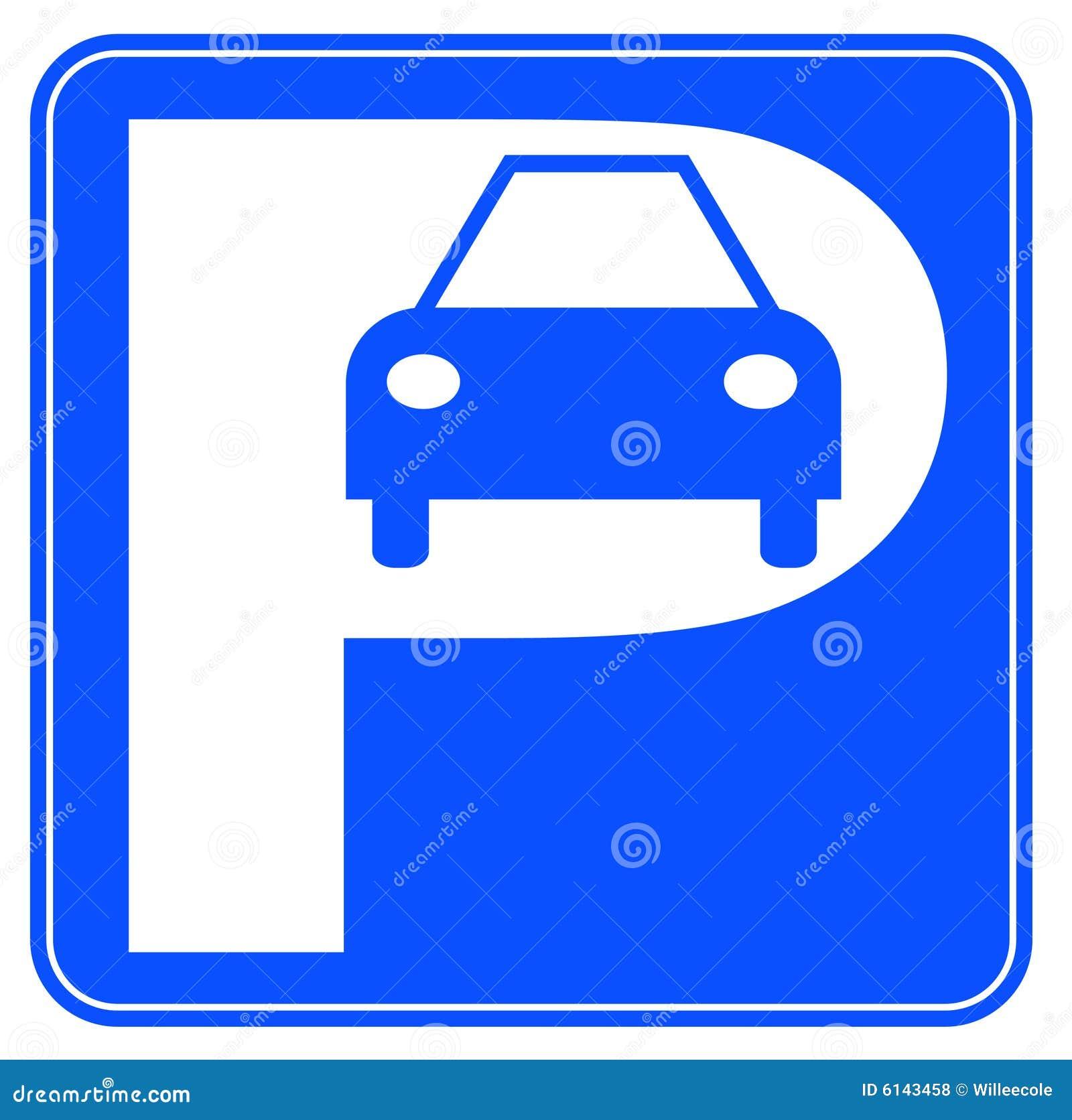 Car Parking Sign Royalty Free Stock Photos - Image: 6143458
