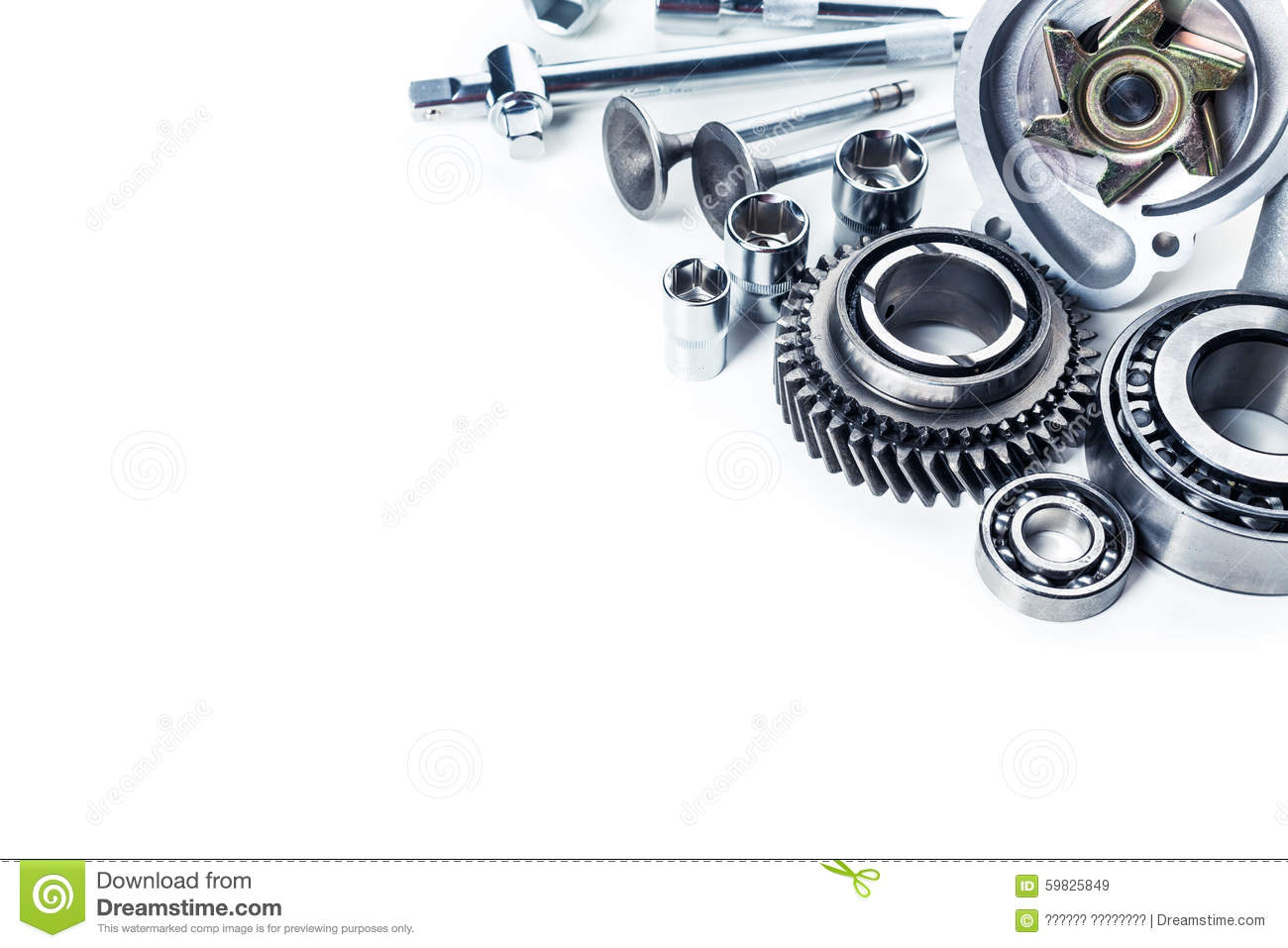 Car parts isolated stock image. Image of section, plug - 59825849