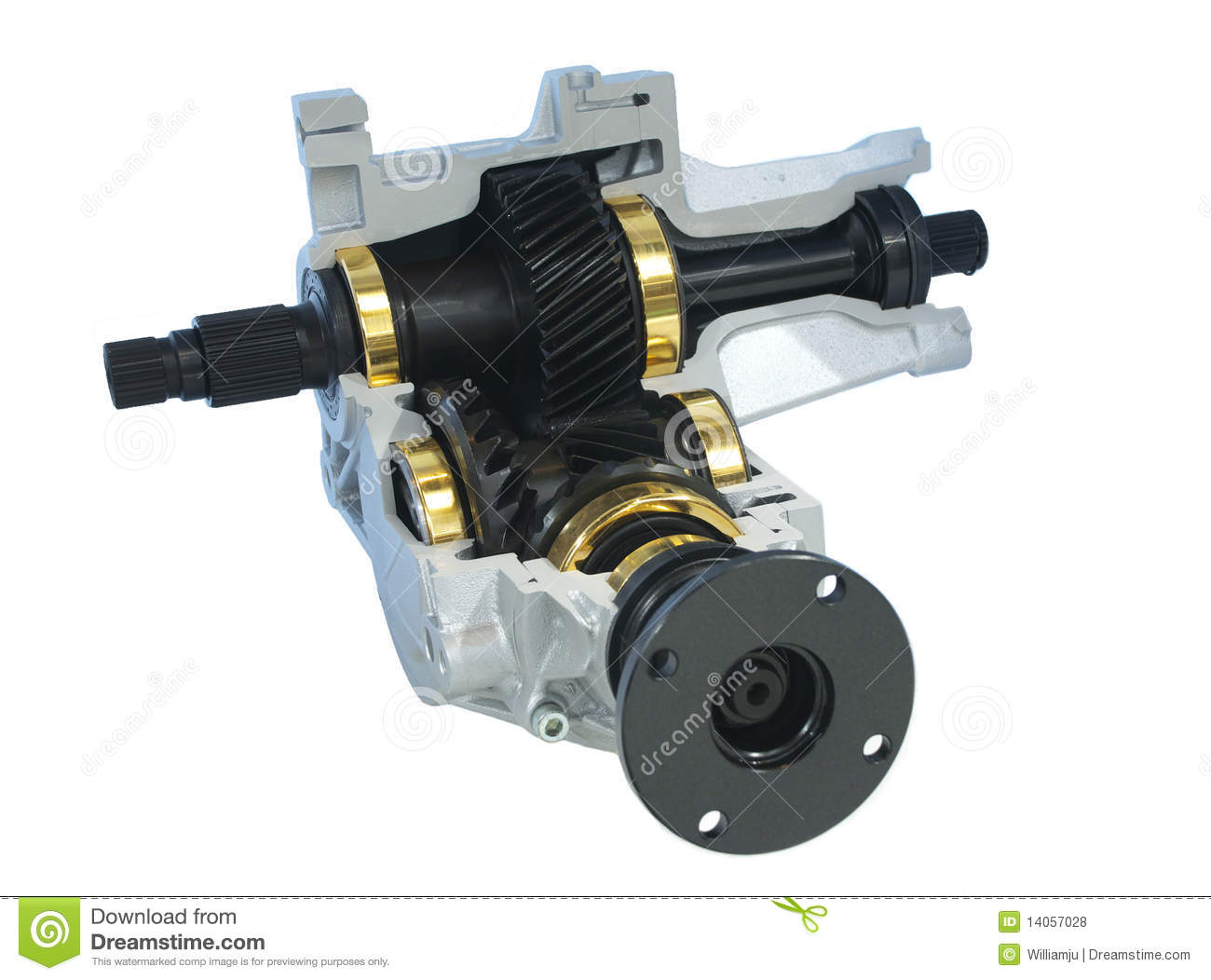 Parts Power Take Off : Car parts power take off unit stock photo image