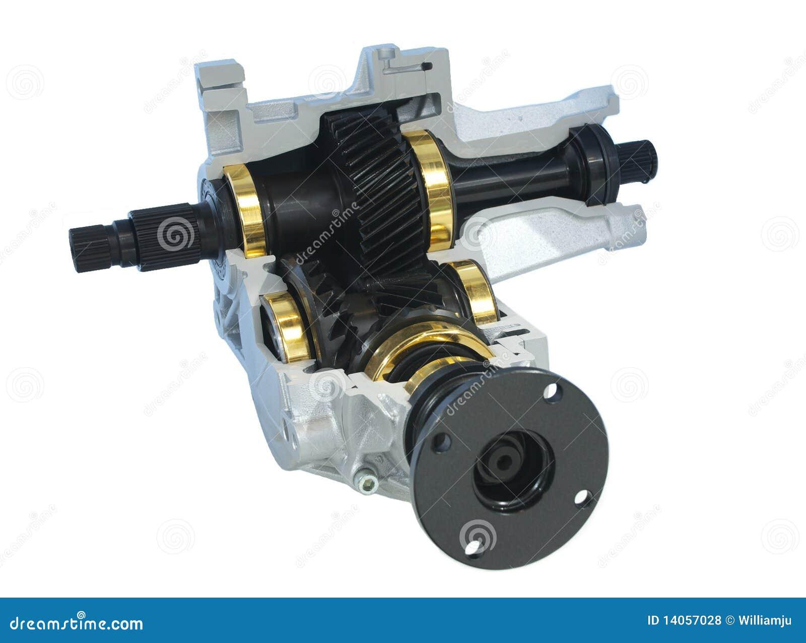 Car Parts Power Take Off Unit Royalty Free Stock Photos