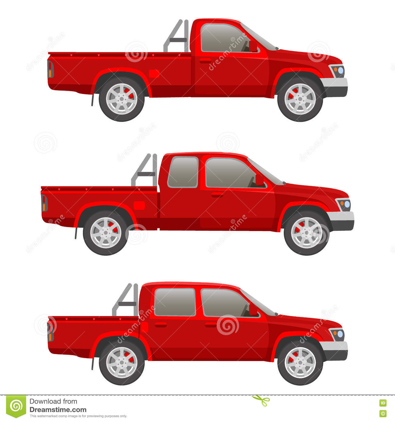 Car pickup truck vector illustration stock vector illustration of royalty free vector malvernweather Image collections