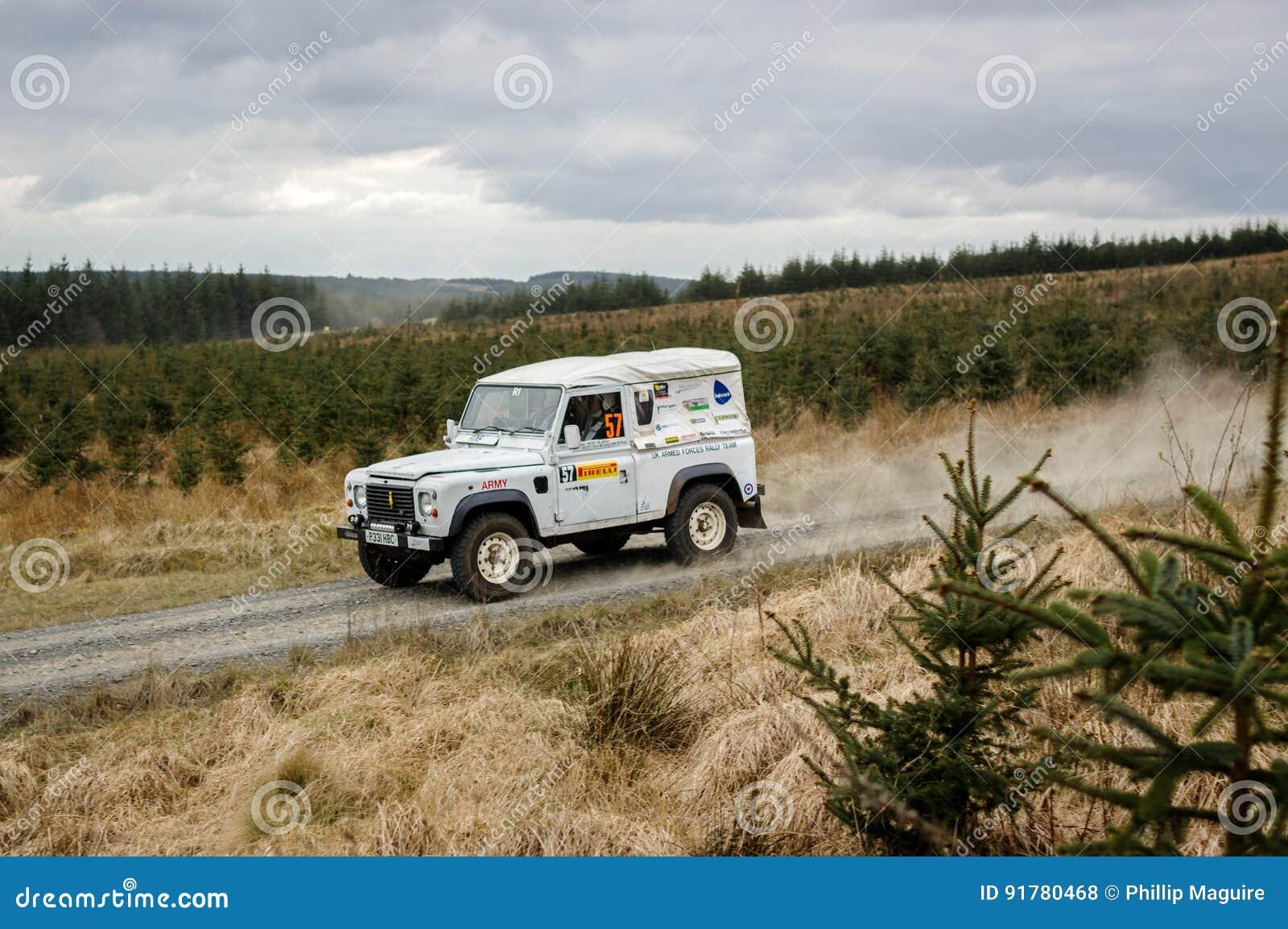 Car At Pirelli International Rally Editorial Stock Photo - Image of ...