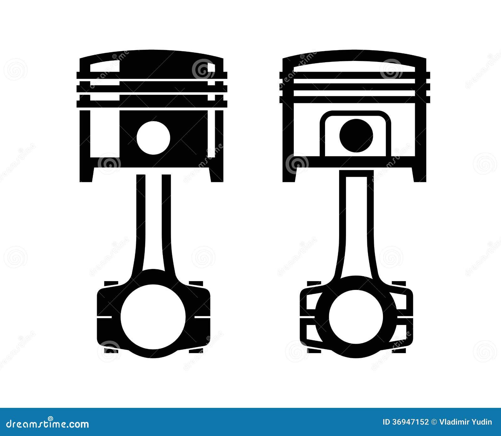 Stock Photography Car Piston Icon File Eps Format Image36947152 on Crankshaft Animation