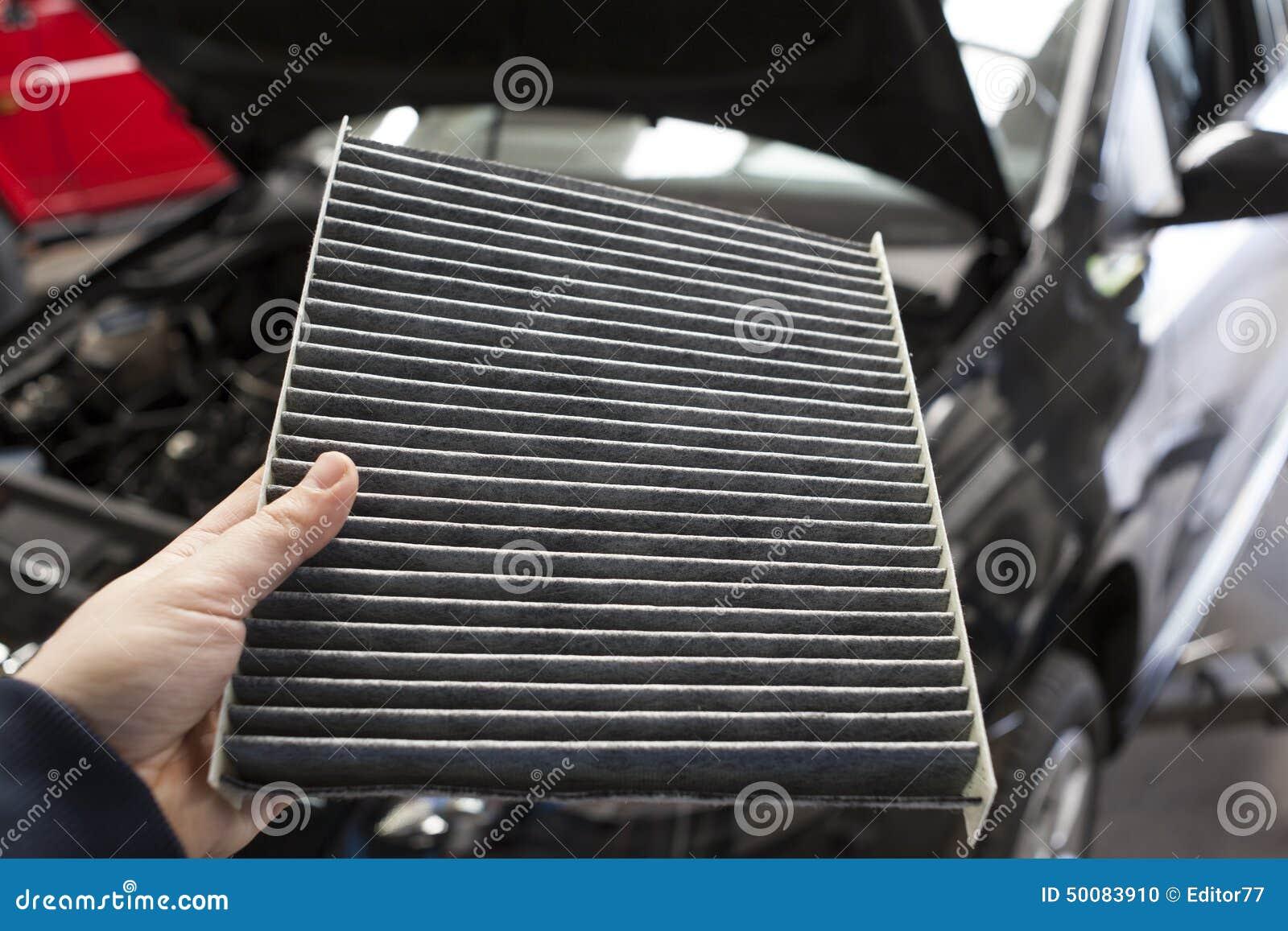 car pollen filter stock photo image 50083910