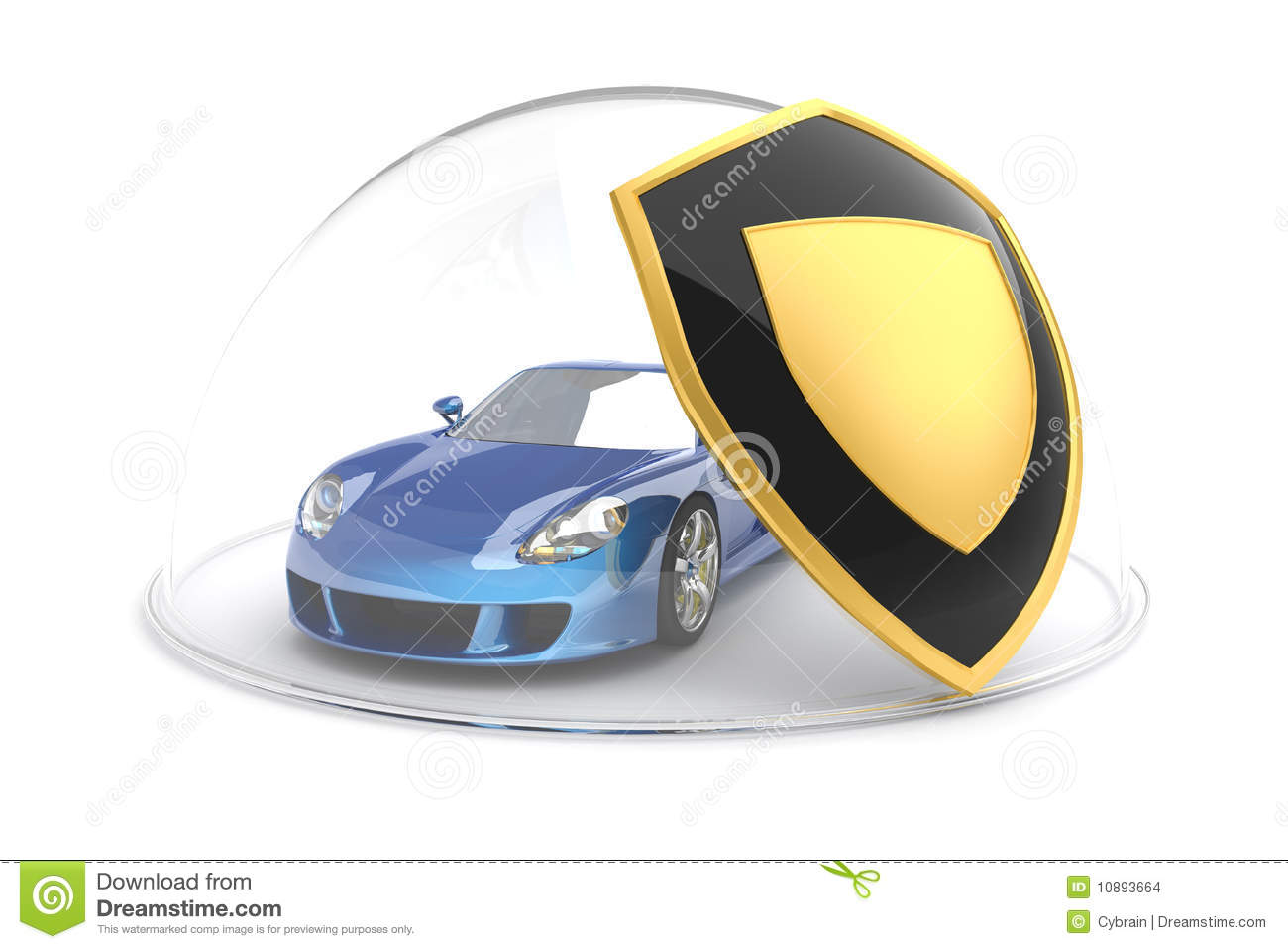 Car Protection Stock Illustration Illustration Of Property 10893664