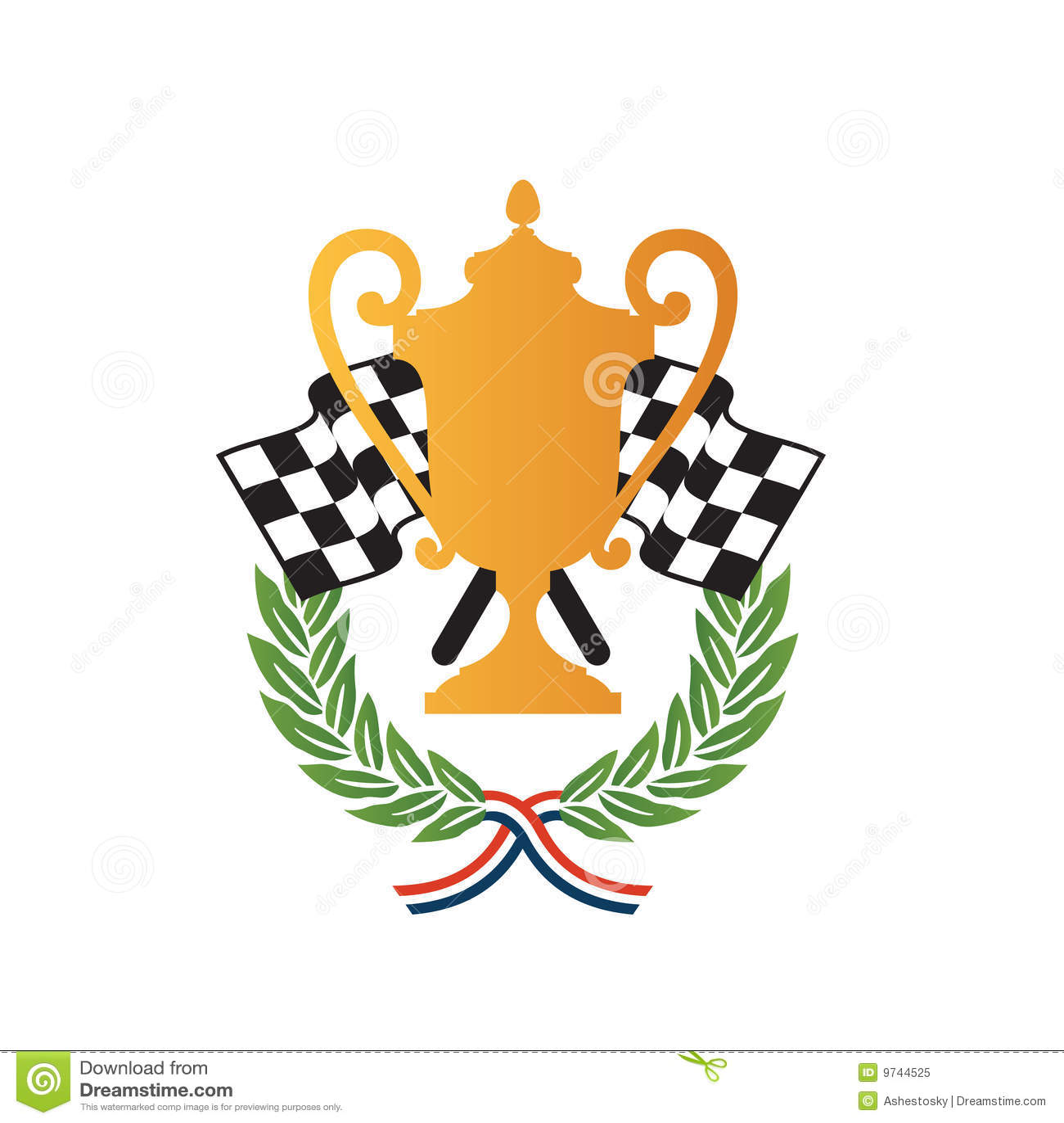 Car Race Winner Award Design Royalty Free Stock Photo - Image: 9744525