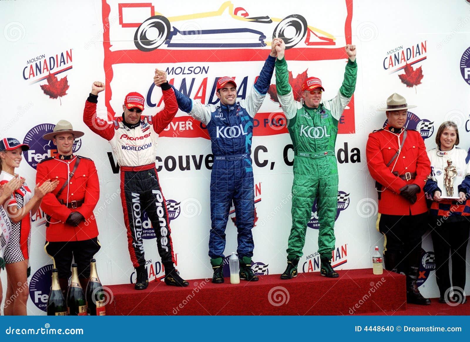 Car Race Winners Editorial Image Image 4448640