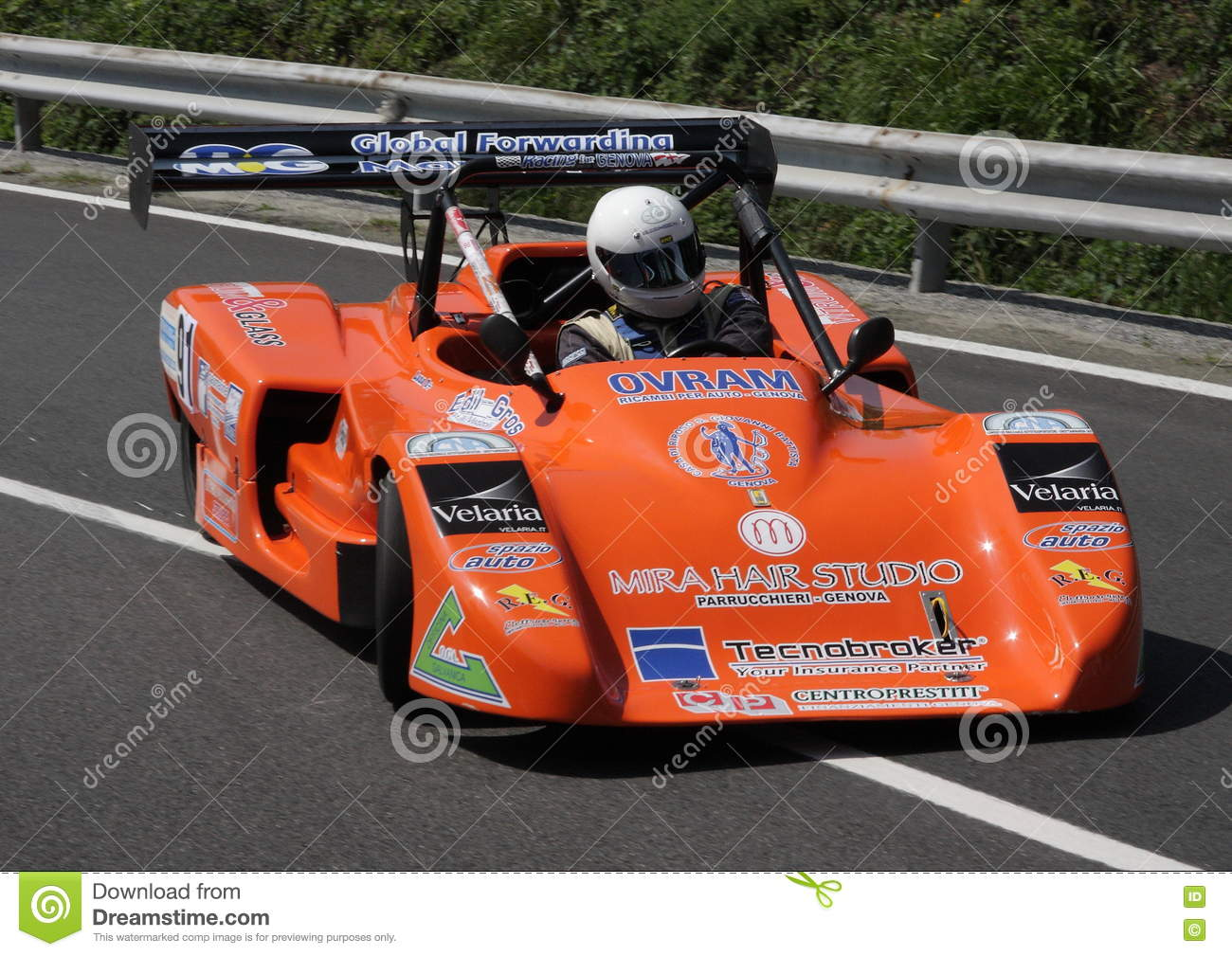 Car Racing Sports Car Prototype Editorial Photography