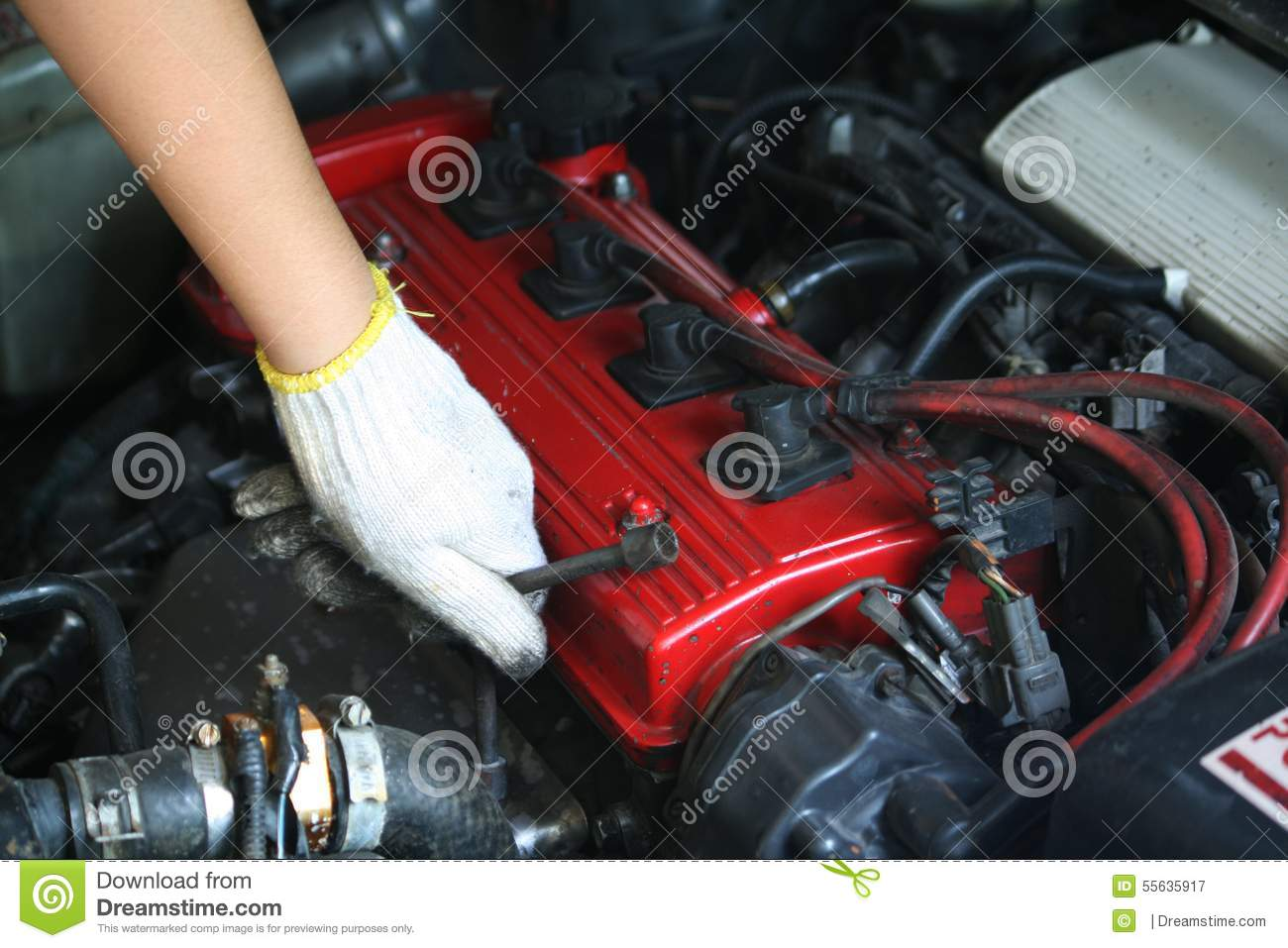 Car Repair Stock Photo Image 55635917
