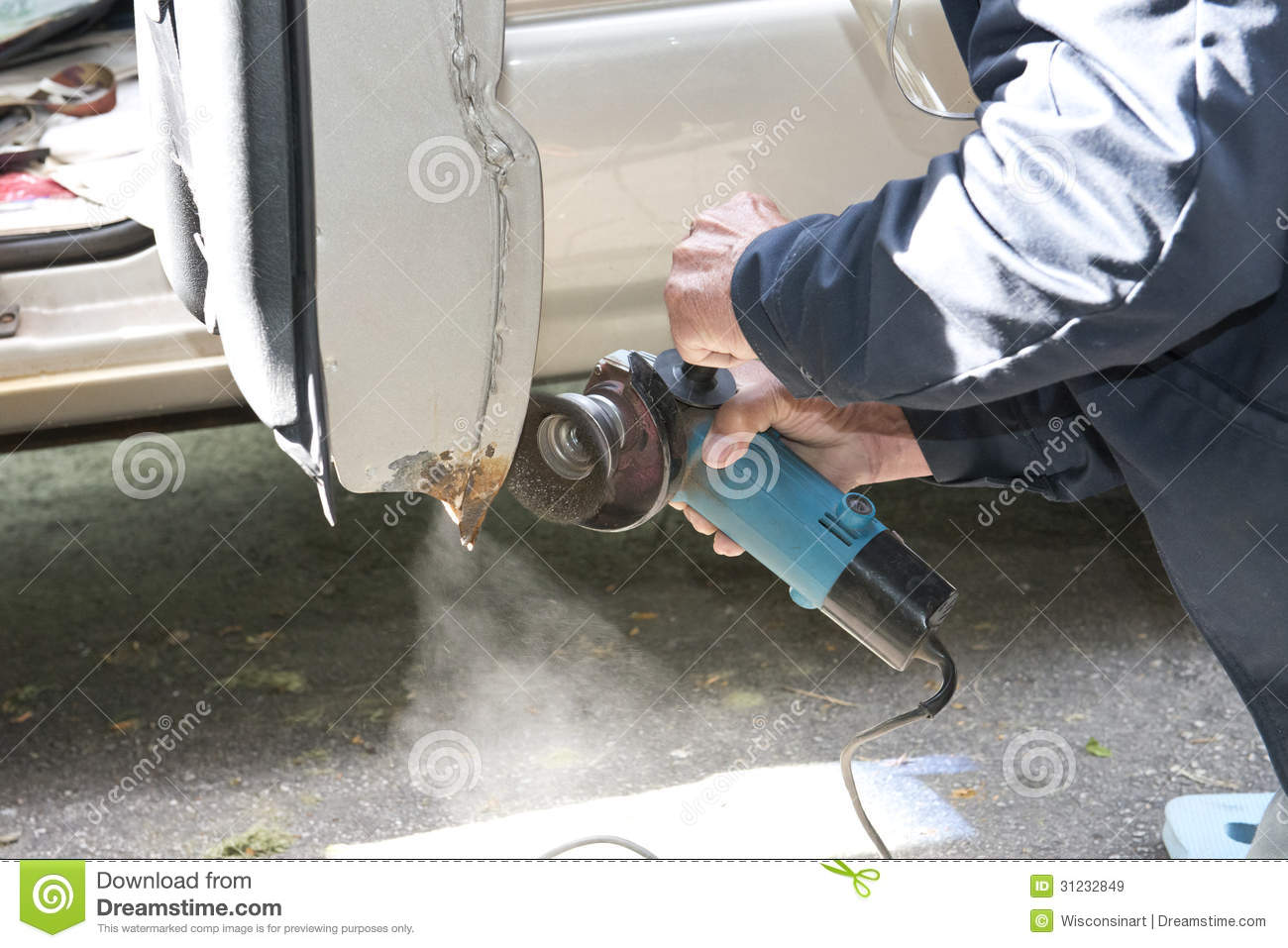How To Repair Rust On A Car To Look New