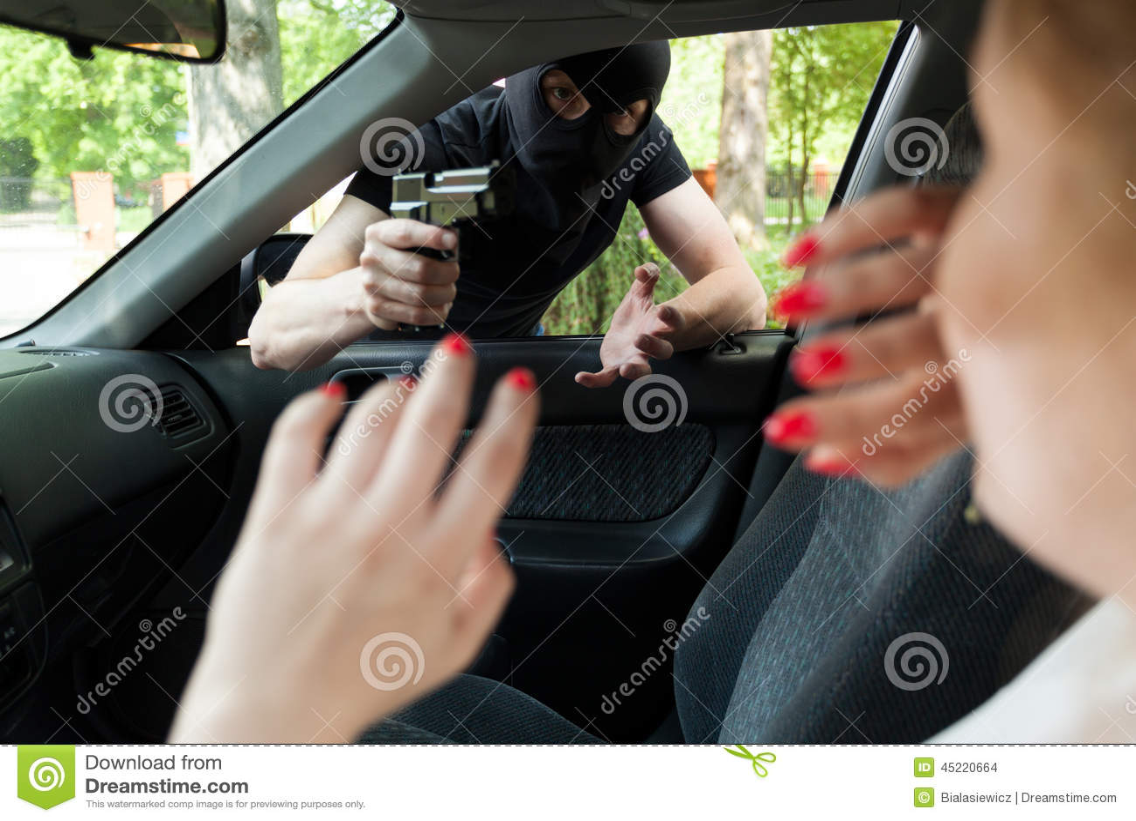 Секс с грабителем в маске 2 фотография