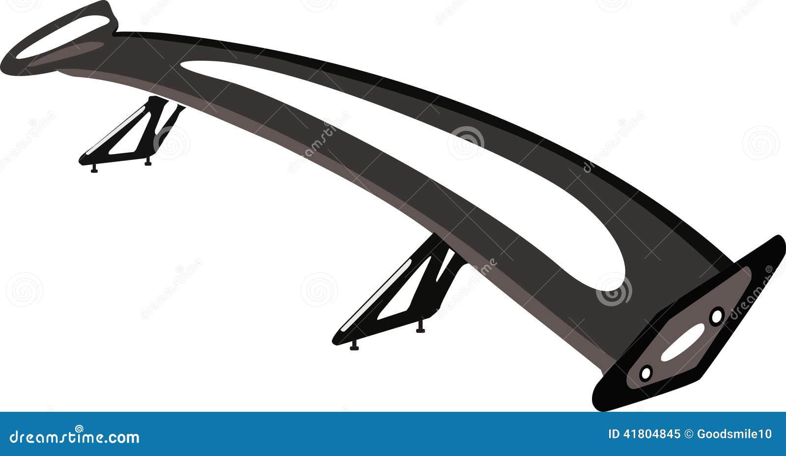 Car S Spoiler Stock Image Image Of Windncar Sports 41804845