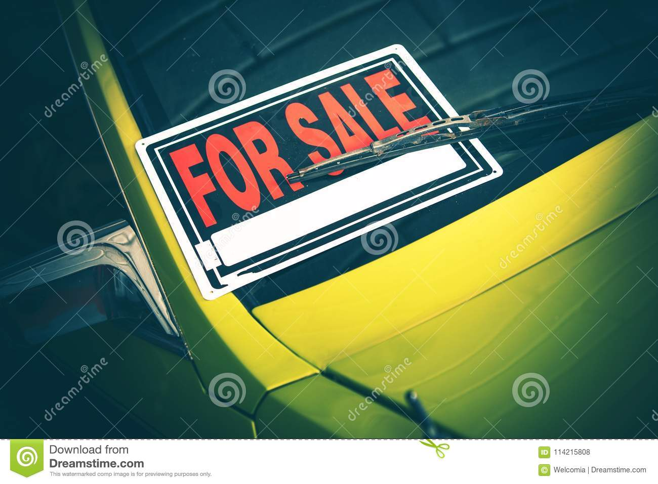 Car For Sale by Owner stock photo  Image of ownership