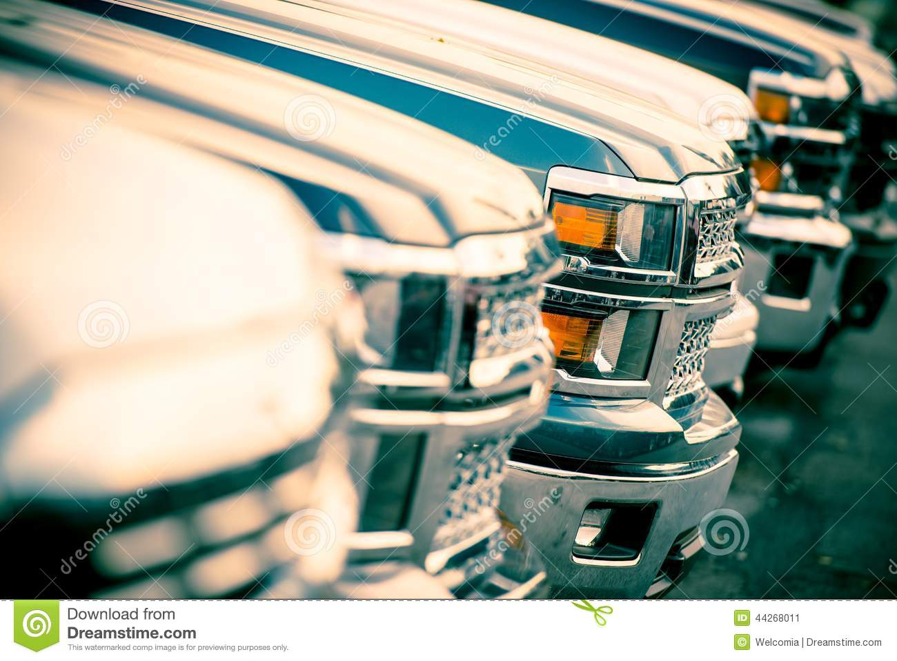 Car Sales Stock Photo Image 44268011