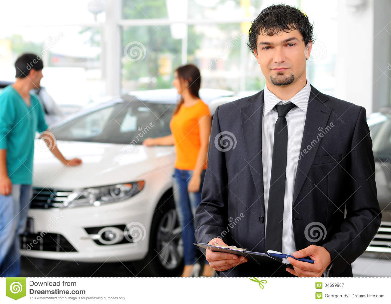 Car Sales Royalty Free Stock Photography Image 34699967