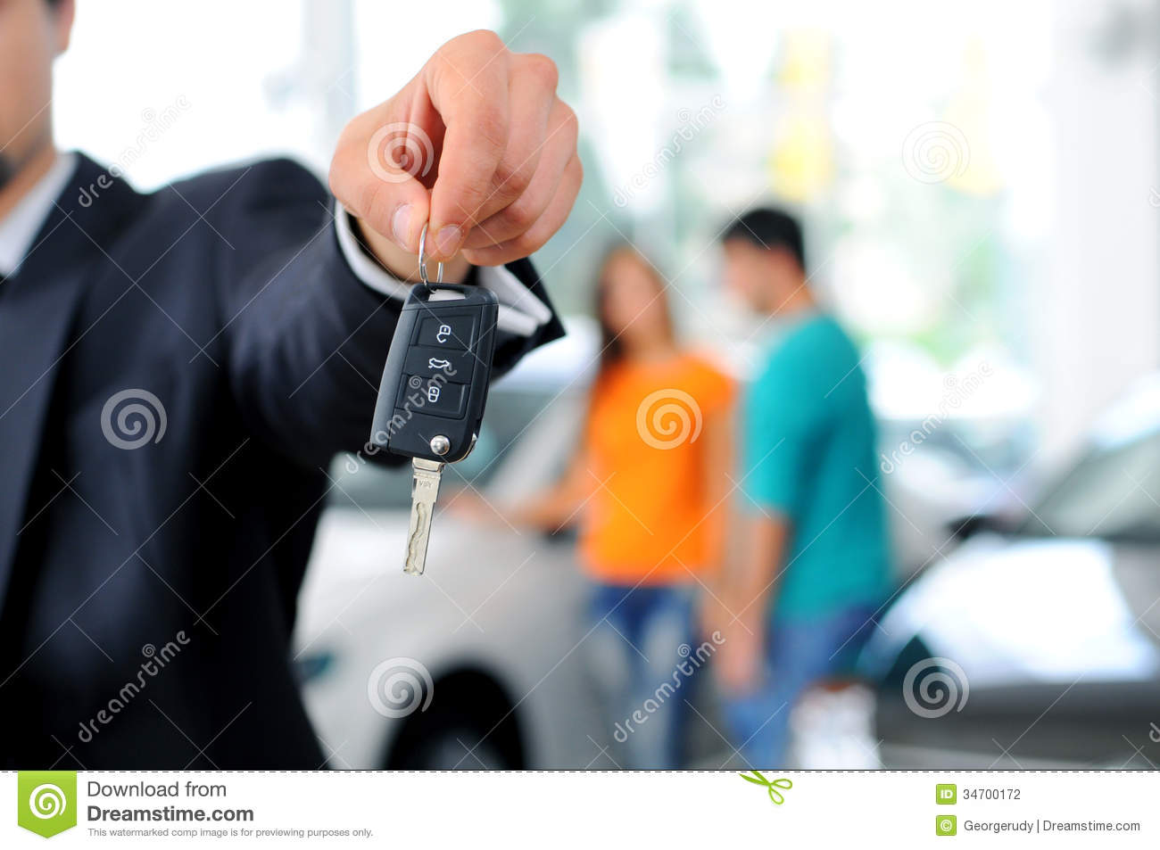 Car Sales Stock Photography Image 34700172