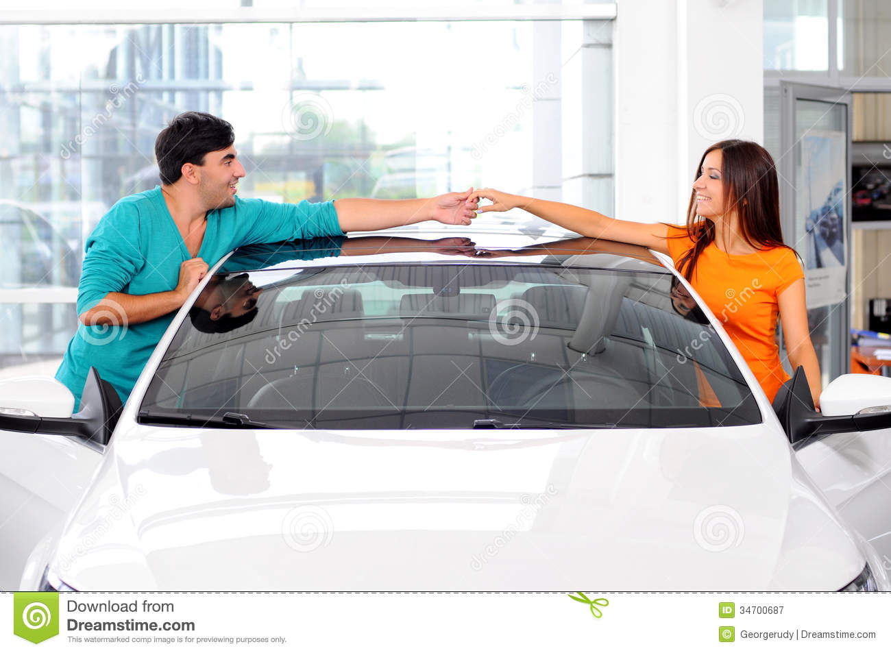 Car Sales Royalty Free Stock Photography Image 34700687