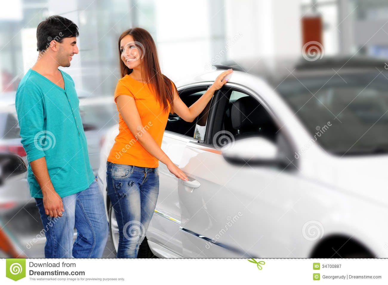 Car Sales Royalty Free Stock Photography Image 34700887