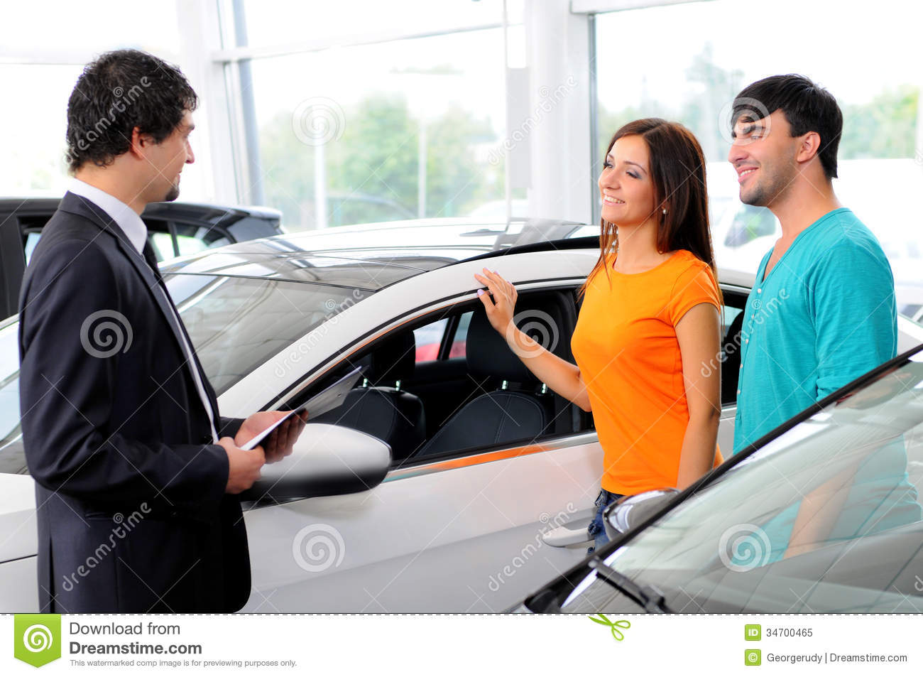 Car Sales Royalty Free Stock Photo Image 34700465