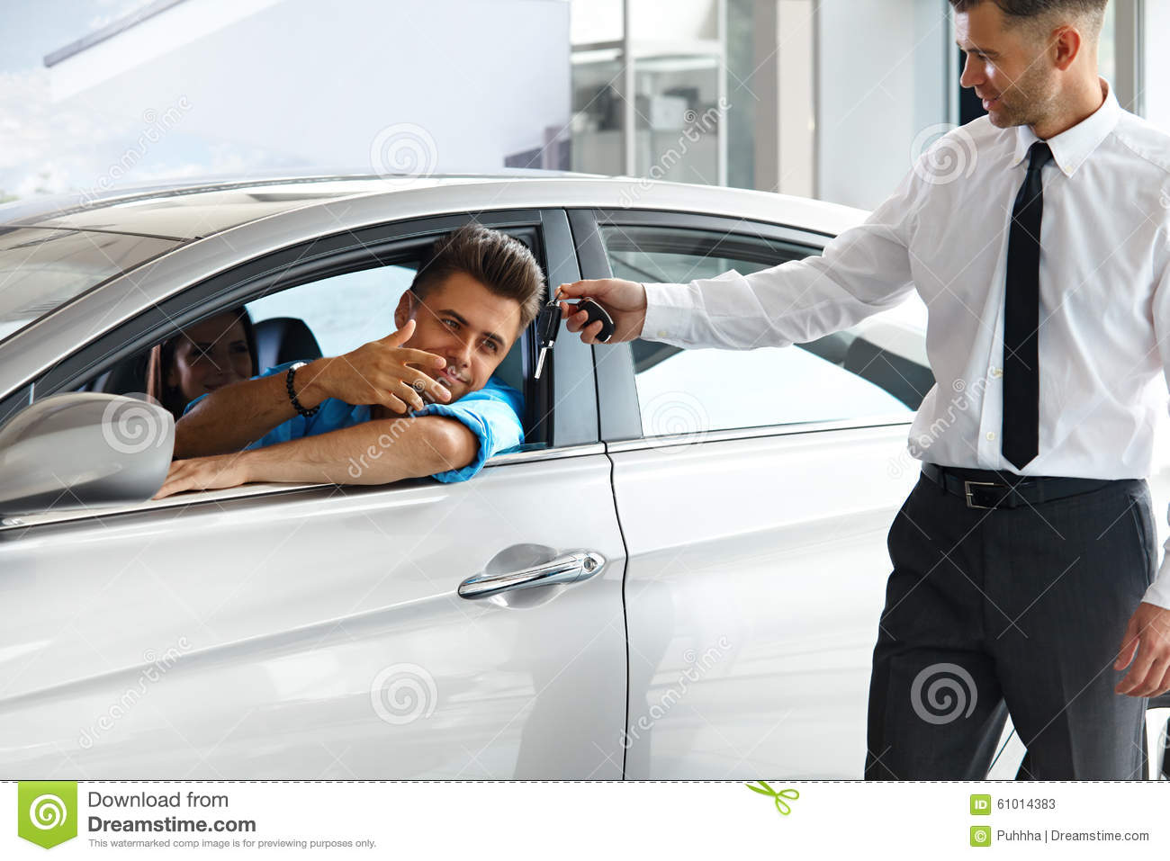 The car salesman
