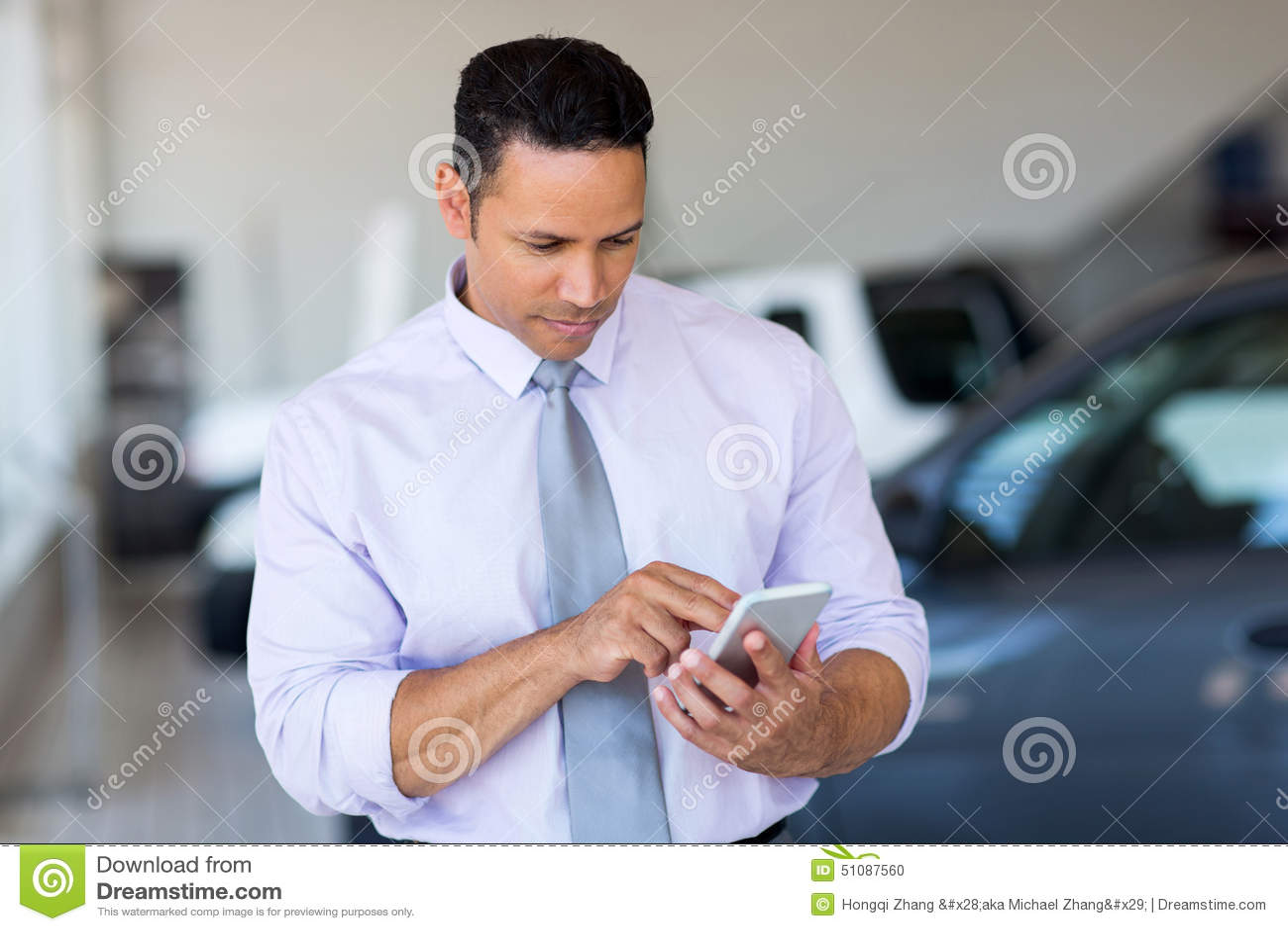 Car salesman phone