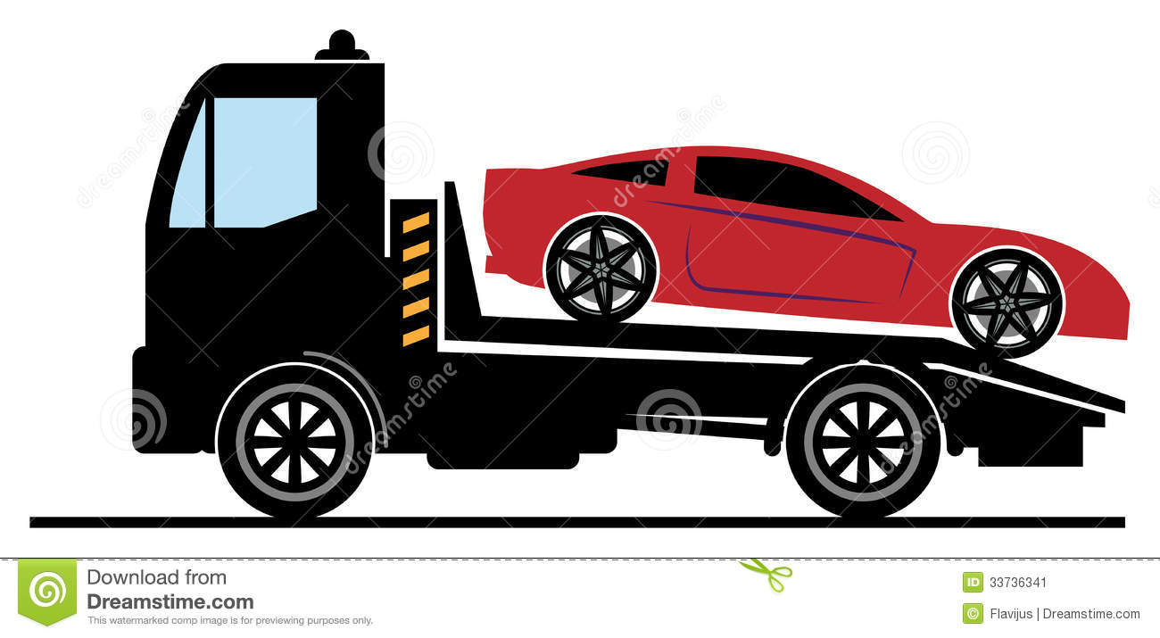 Car salvage stock vector. Illustration of sticker, repair - 33736341