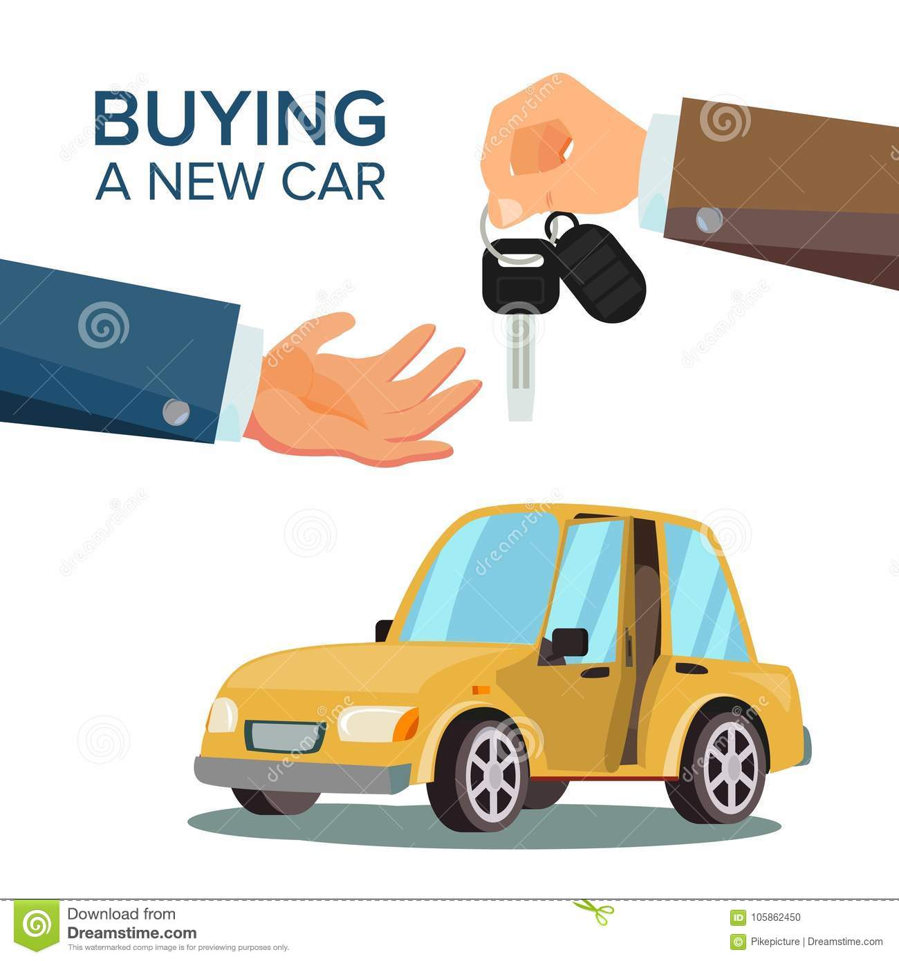 buying a rental car from a dealership