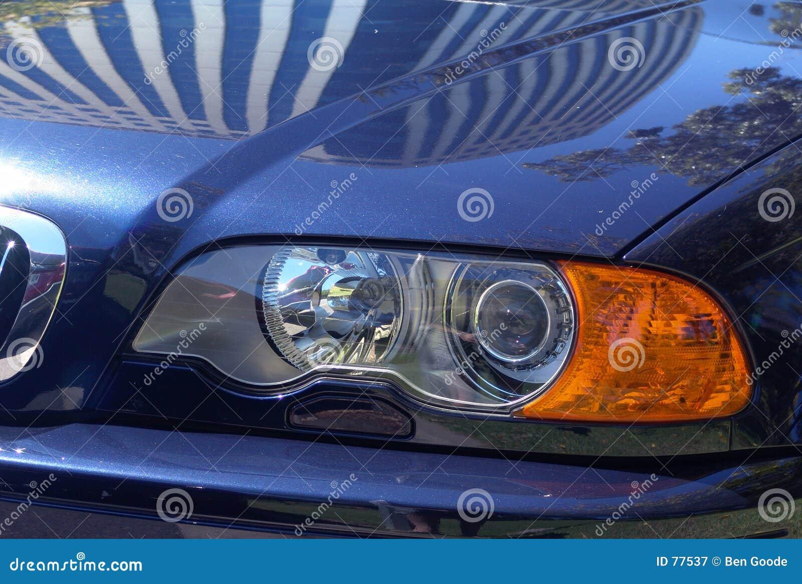 Car shiny sports
