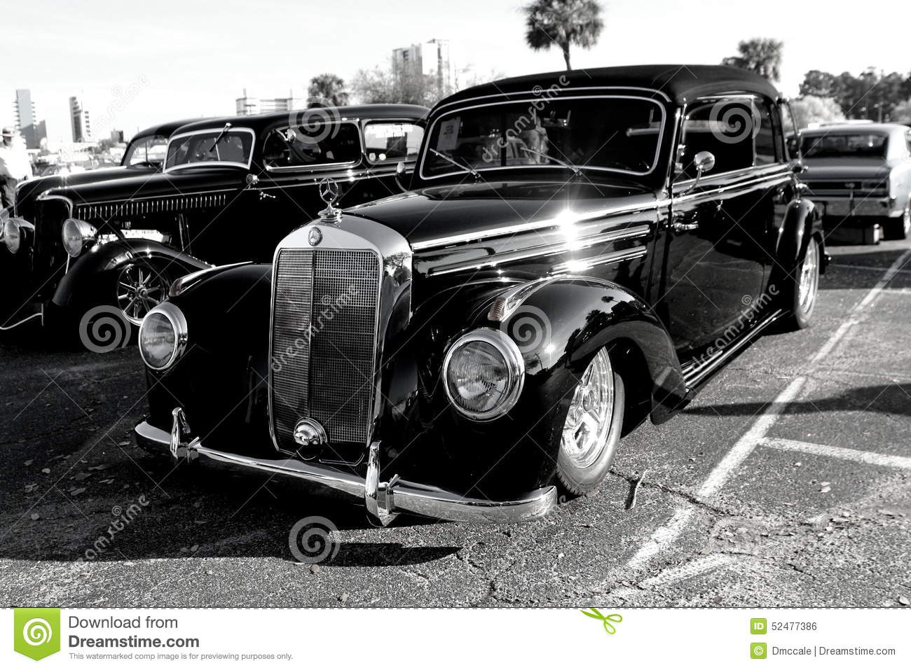 Car Show Black Mercedes Benz Editorial Photo - Image of auto, ride ...