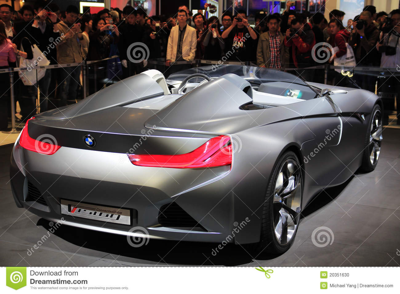 Bmw Vision Connecteddrive Two Seater Sports Car Concept On