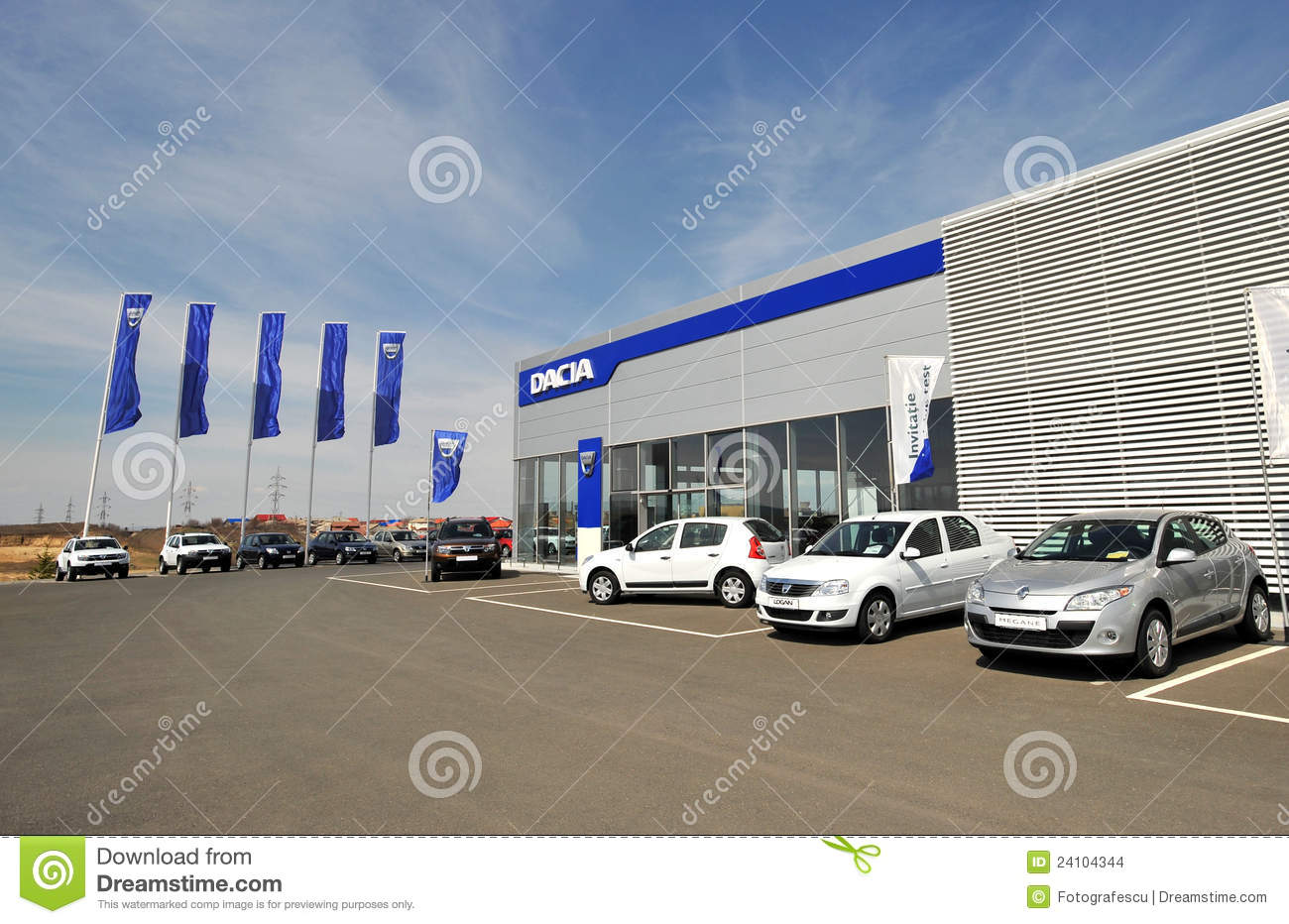 Car Showroom Editorial Stock Image - Image: 24104344