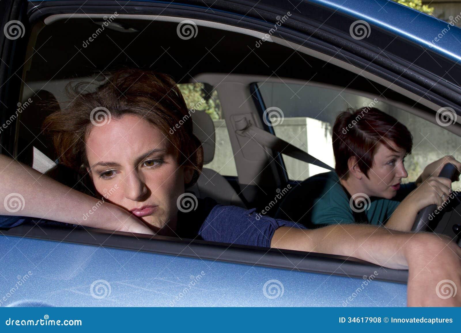Car Sick Royalty Free Stock Photos