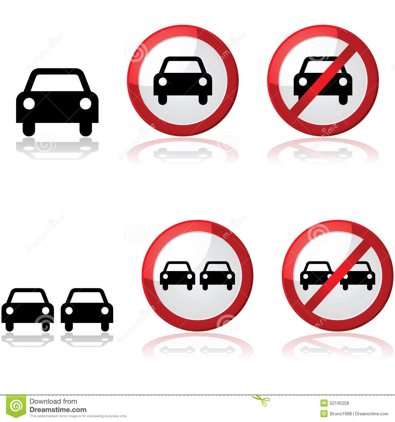 Car Signs Stock Vector Image - Car signs