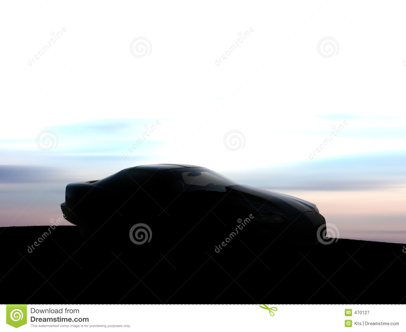 Car Silhouette Royalty Free Stock Photography Image 470127
