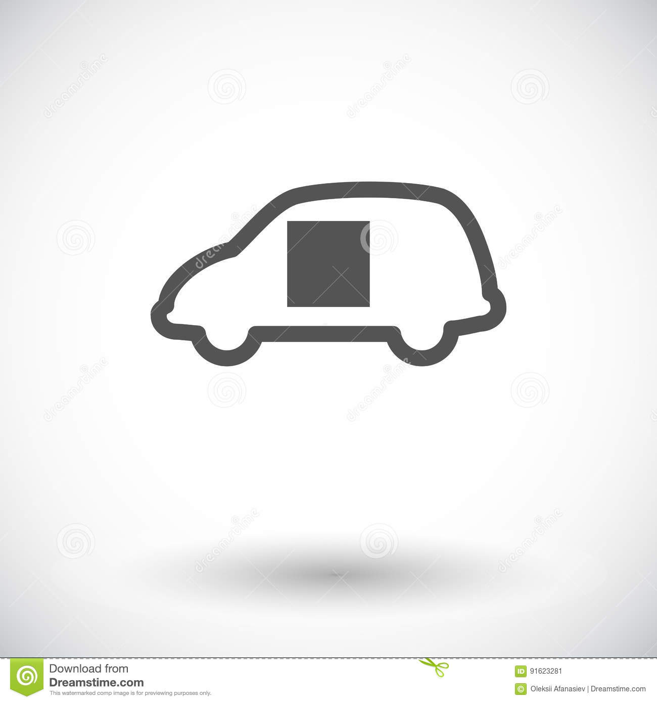 Car Sliding Door Stock Vector Illustration Of Sign Automobile