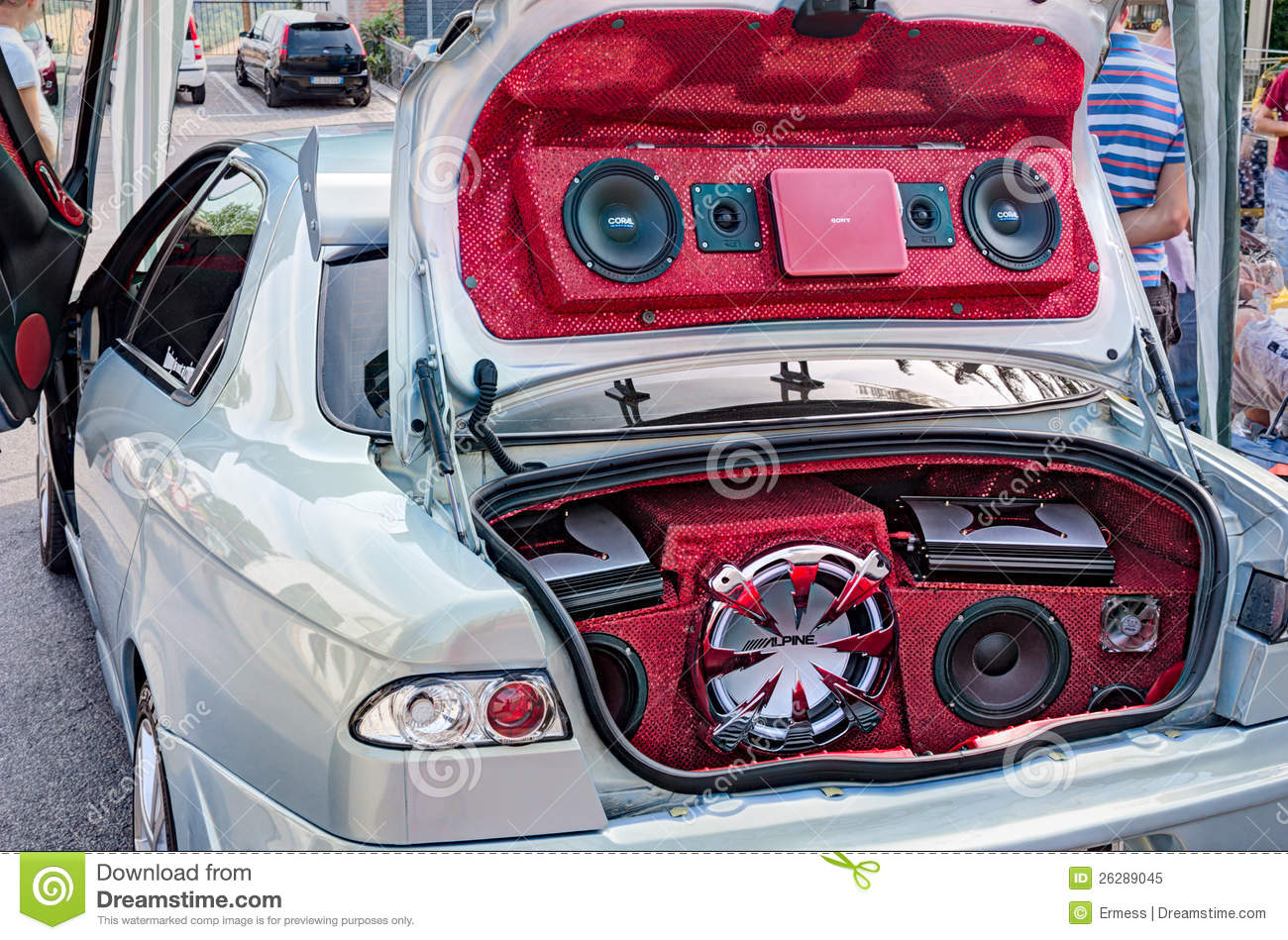 Car Sound Systems >> Car Sound System Editorial Image Image Of Loud Auto 26289045
