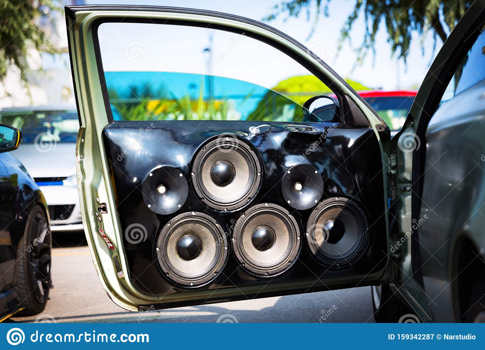 Car Sound System Stock Image Image Of Party Equipment 159342287