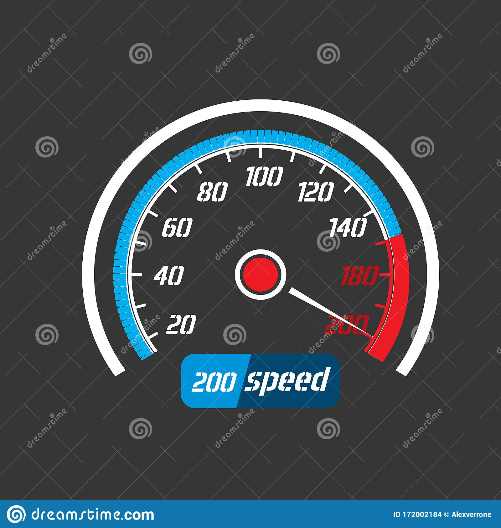 Car Speedometer, Acceleration Of A Car To Maximum Speed ...